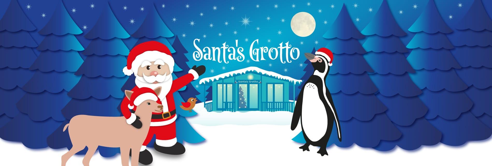 newquay zoo santas grotto event